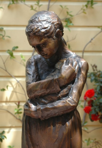 Peggy Parker's Statue of Mary